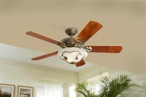 ceiling fan for cooling