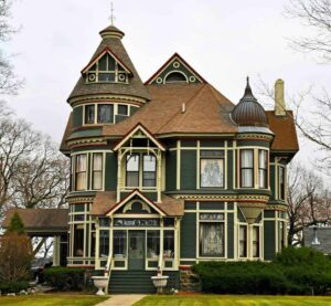 Victorian house roofing