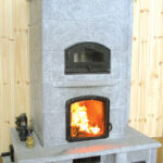 masonry stove offers efficient heating