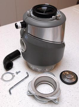 kenmore garbage disposal. preparing the garbage disposer kenmore disposal m