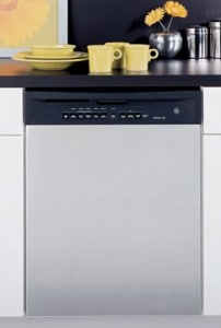 """""""Quiet"""" is one of the main features that dishwasher manufacturers promote. Photo: GE"""