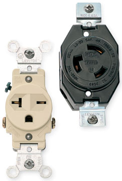 220v Outlet Types >> Types of Electrical Receptacles | HomeTips