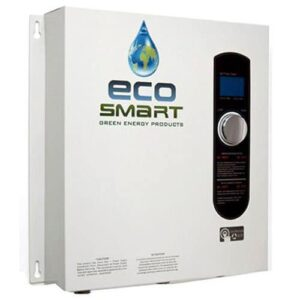 electric tankless point-of-use water heater for cold climate