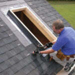 installing a skylight on rooftop