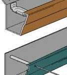 Rain Gutter Mounting Systems