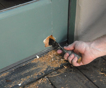 Repairing Door Dents & Dings