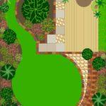garden design drawing