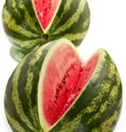 fresh garden watermelons