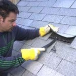 removing asphalt shingle