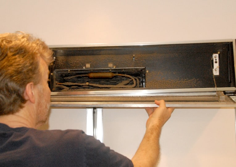 removing cover panel