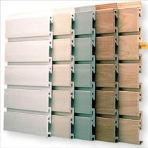 slotwall panels for garage storage