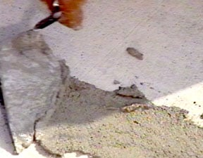 Clean or fix a concrete or brick driveway or patio for Bleaching concrete driveway