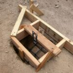 form for concrete pier footing