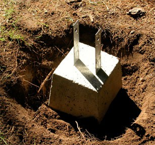 How To Pour Concrete Footings Amp Piers Hometips