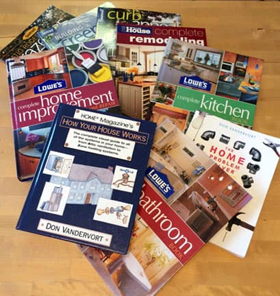 Home improvement books produced by HomeTips
