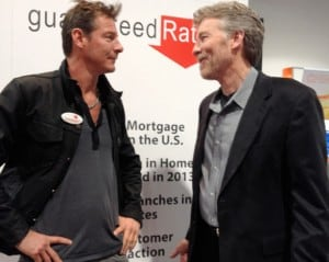 Ty Pennington talks home improvement with Don Vandervort