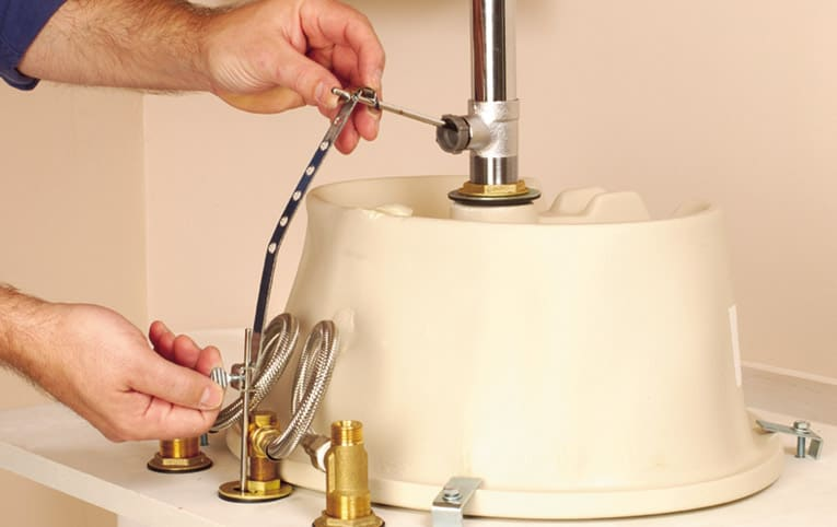 How To Install A Bathroom Faucet Hometips