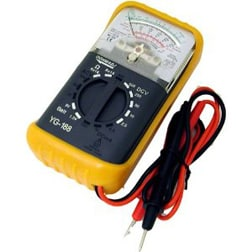 Multimeter is used for troubleshooting electrical problems. Photo: Mastech