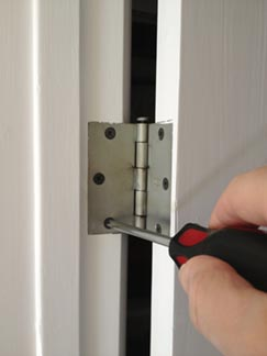 How to Fix a Loose or Warped Door