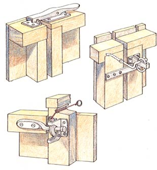 gate latches for fencing