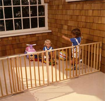 childproofing decks