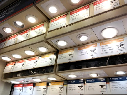 How to install recessed lights install recessed lights aloadofball Choice Image