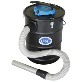 Ash vacuum is designed for cleaning the fine soot and ash from pellet and wood stoves. Photo: US Stove