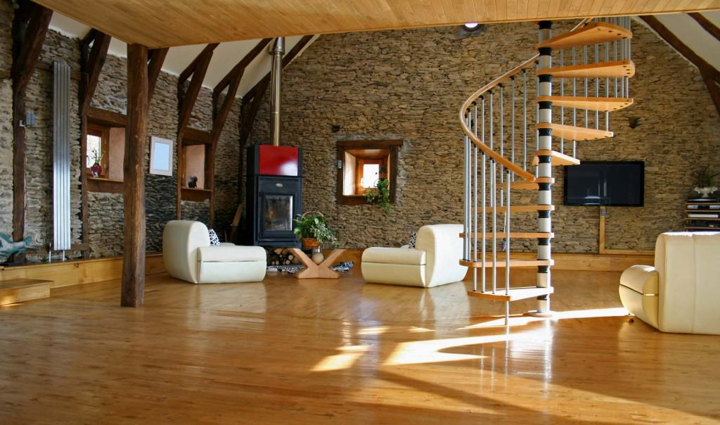 Wonderful Spiral Stair Consumes Minimal Space And Offers A Lightweight, Sculptural  Appearance.