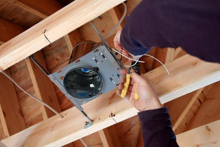 How to install recessed lights aloadofball Gallery
