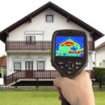 using infrared heat detector
