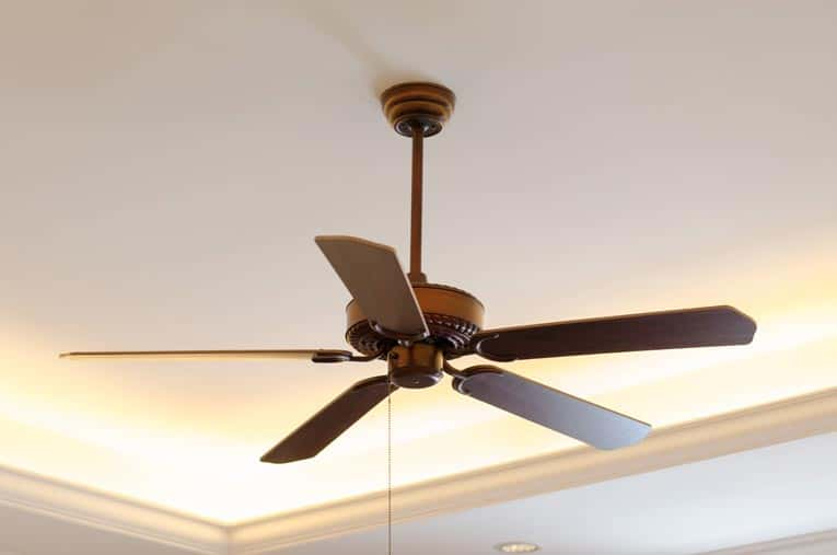 When buying a ceiling fan, you'll find styles that range from sleekly contemporary to ornately traditional.