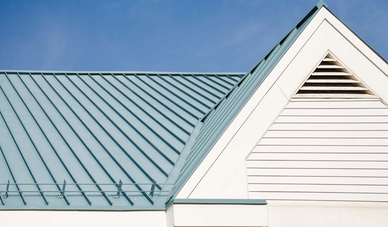 Standing seam metal roofing looks right at home on country-style homes, vacation homes, and contemporary architecture.