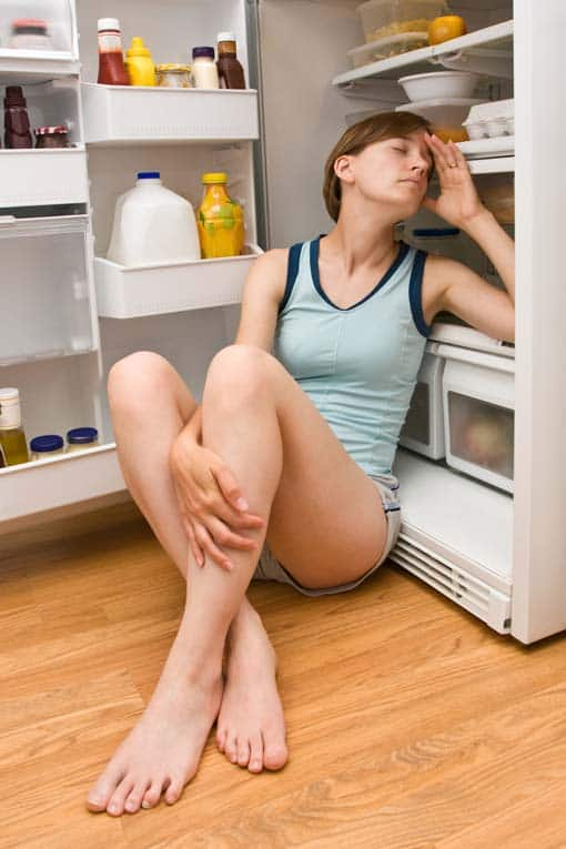 If you're too hot, DON'T DO THIS! Your energy bills will soar off the charts and your food will spoil. Instead, try the measures listed here.