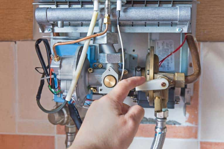 tankless water heater needs to be kept clean inside and properly adjusted for efficient heating