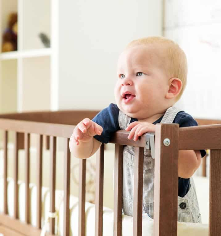 When buying a crib for your baby, be sure it adheres to all current safety standards. Outdated cribs may not!
