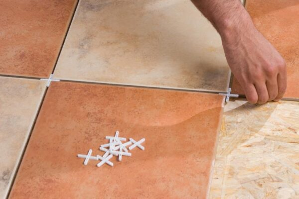 How to lay ceramic tile floor