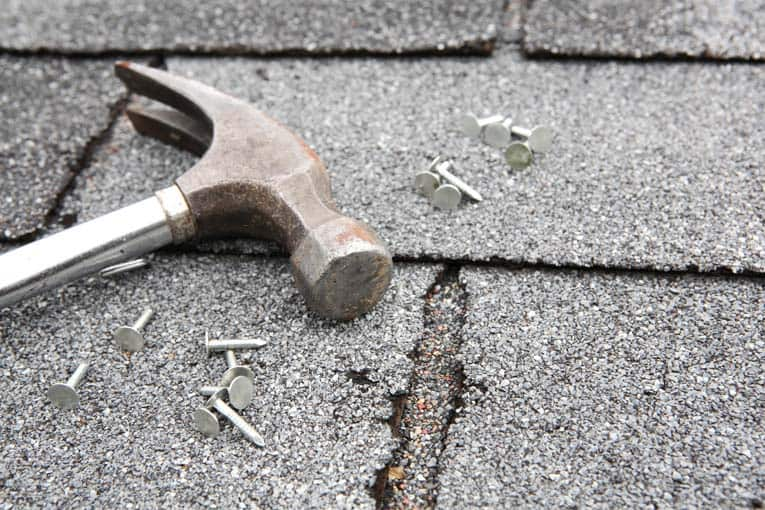 How to Repair Asphalt Shingles