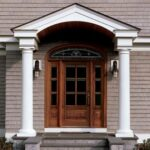 wood entry door system