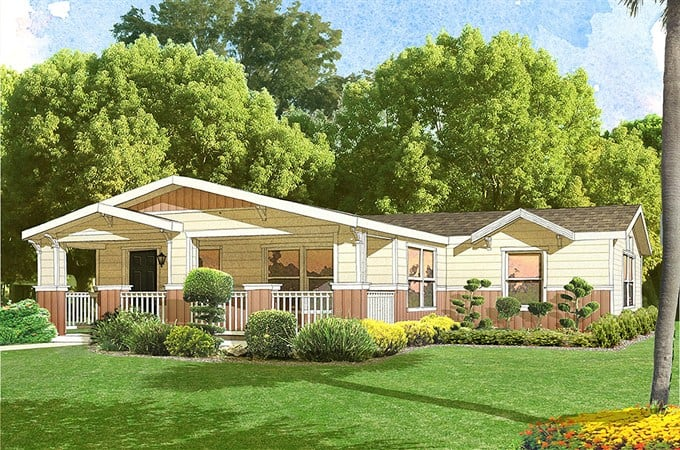 Manufactured homes Craftsman style manufactured homes
