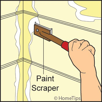 scraping siding