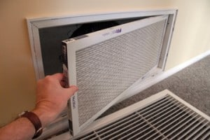 Change all filters that serve the air conditioner at least twice a year.