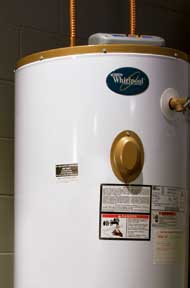 storage water heater is the most common type  photo: whirlpool