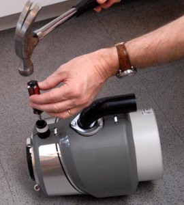 installing a garbage disposal