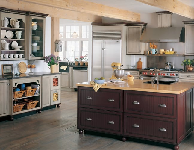 unfitted cabinets