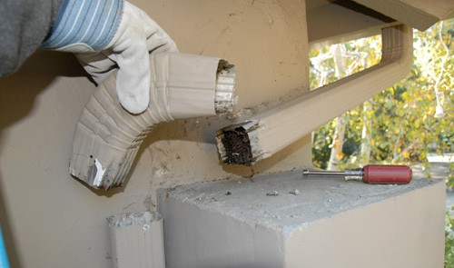 How To Repair Rain Gutters