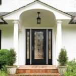 glazed entry door system