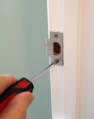 fix loose door strike plate & How to Fix an Interior Door