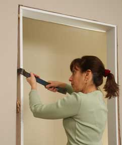 sc 1 st  HomeTips & How to Install a Door