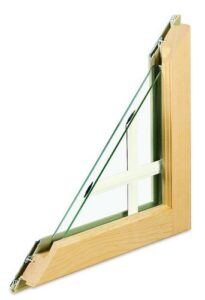 High-performance window glazing saves energy. Photo: Marvin