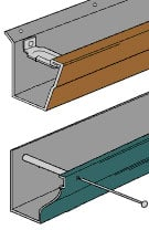 Rain gutters buying guide rain gutter sizes profiles solutioingenieria